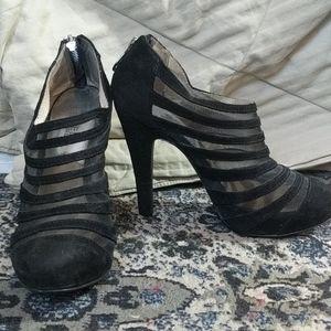 Michael Kors low cut boot heels